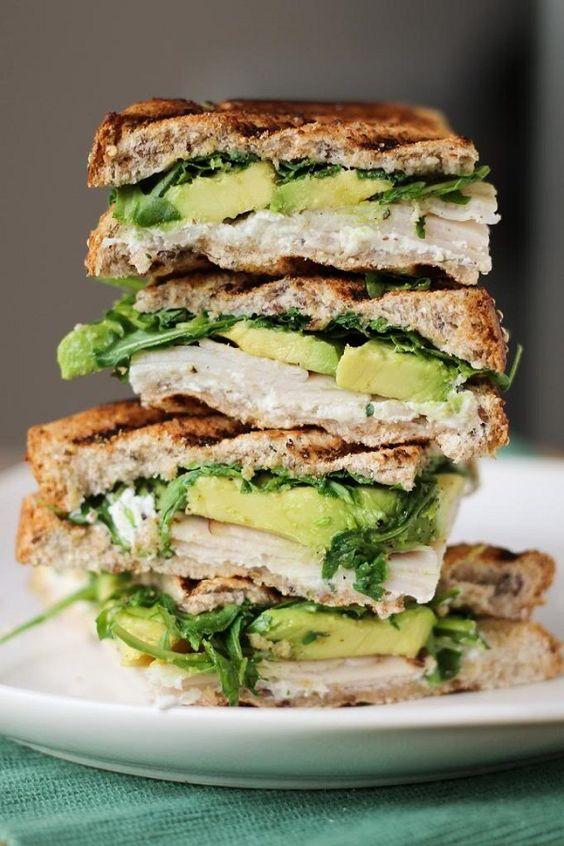 exPress-o: Turkey + Avocado + Goat Cheese = Panini Perfection