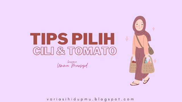 tips pilih sayur