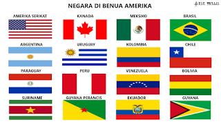 Daftar Negara Di Benua Amerika Dan Ibukotanya