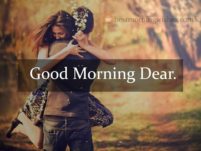 Good Morning Dear.