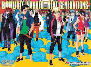 Update! Baca Manga Boruto Chapter 58 Full Sub Indo