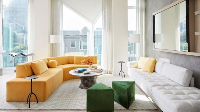 thiết kế nội thất căn hộ cho cặp vợ chồng già muốn nghỉ hưu