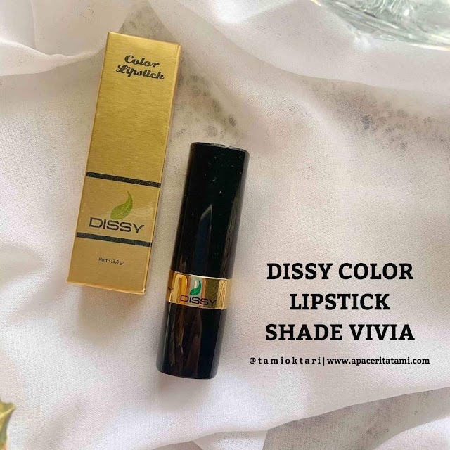 [REVIEW] Dissy Color Lipstick Shade Vivia