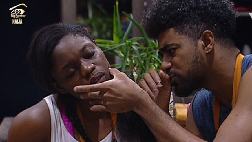 DOWNLOAD: #BBNaija - Bisola  and Thintalltony Are  at it Again