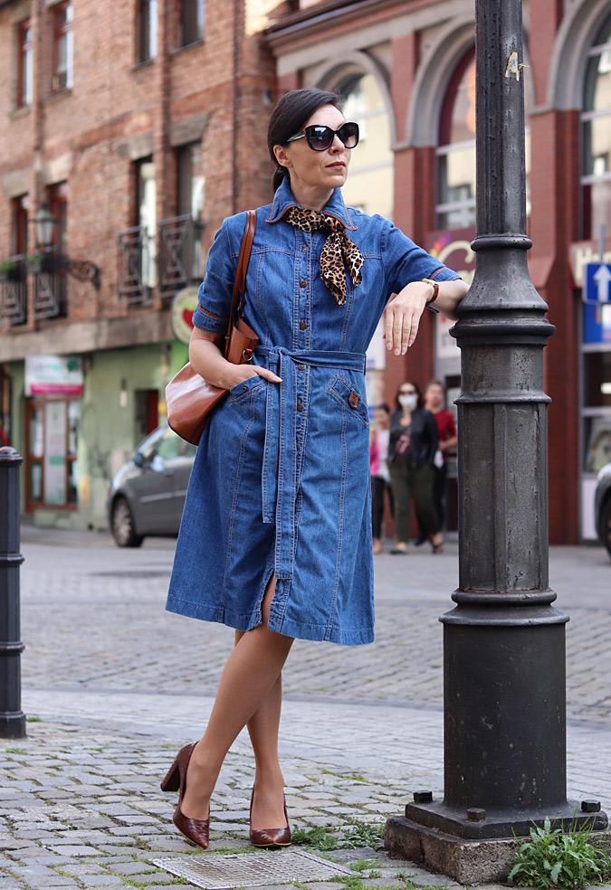 Jeansowa Szmizjerka Minimalissmo Blog Modowy