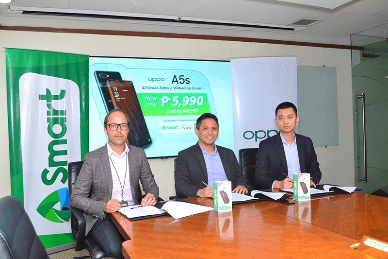 The partnership cuts PHP 1K off the OPPO A5s price tag