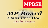 mp board 10th time table 2017 mpbse.nic.in hsc exam date 2017
