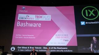 RootedCon 2018 - Gal Elbaz y Eran Vaknin - Beware of the bashware