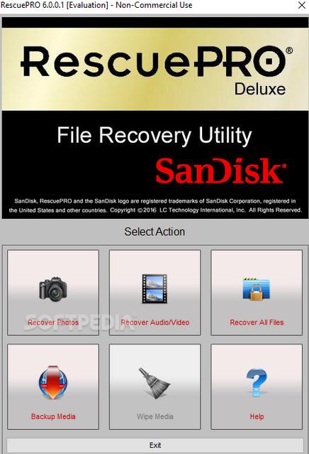 Download RescuePRO Deluxe 6.0.2.3 Full Key, Phần mềm chuyên phục hồi dữ liệu trên thẻ nhớ