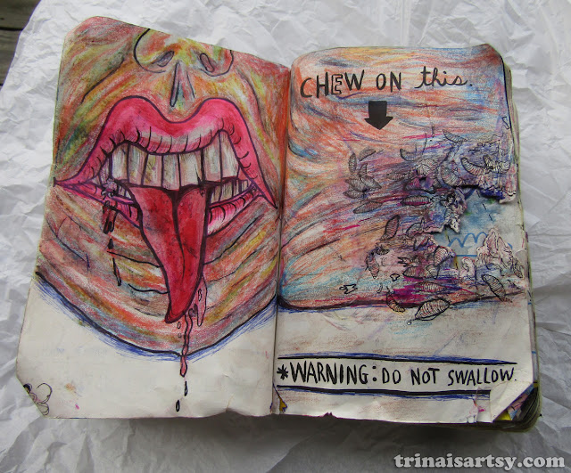 Wreck this Journal - Chew On This