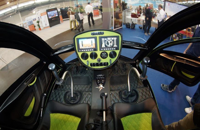Konner K1 cockpit and interior
