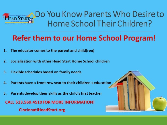 Do You Know Parents Who Desire To Home School Their Children?