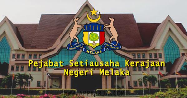 Pejabat Setiausaha Kerajaan Negeri Melaka