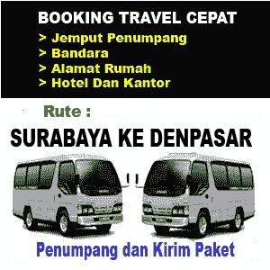Travel Surabaya ke Denpasar