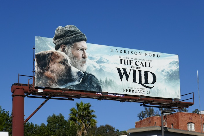 Call of the Wild movie billboard