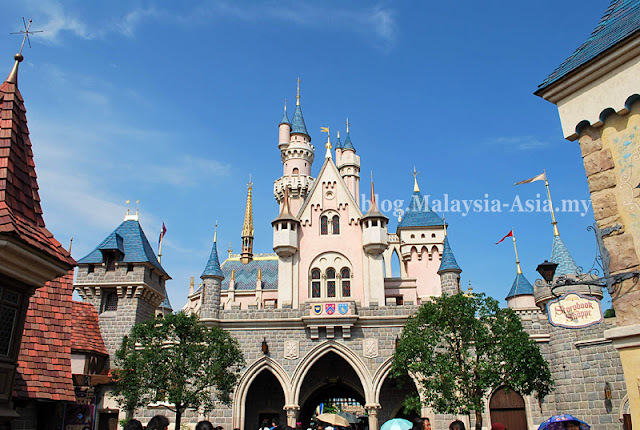 Hong Kong Sleeping Beauty Castle