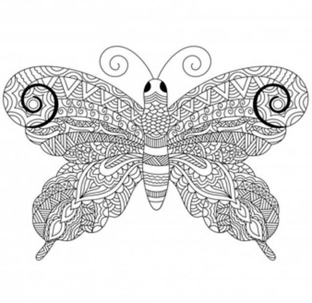 رسمة من رسومات فن الزنتانجل