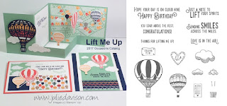 Stampin' Up! Lift Me Up Card Kit from 2017 Occasions Catalog for January Stamp of the Month Club by Julie Davison www.juliedavison.com/clubs