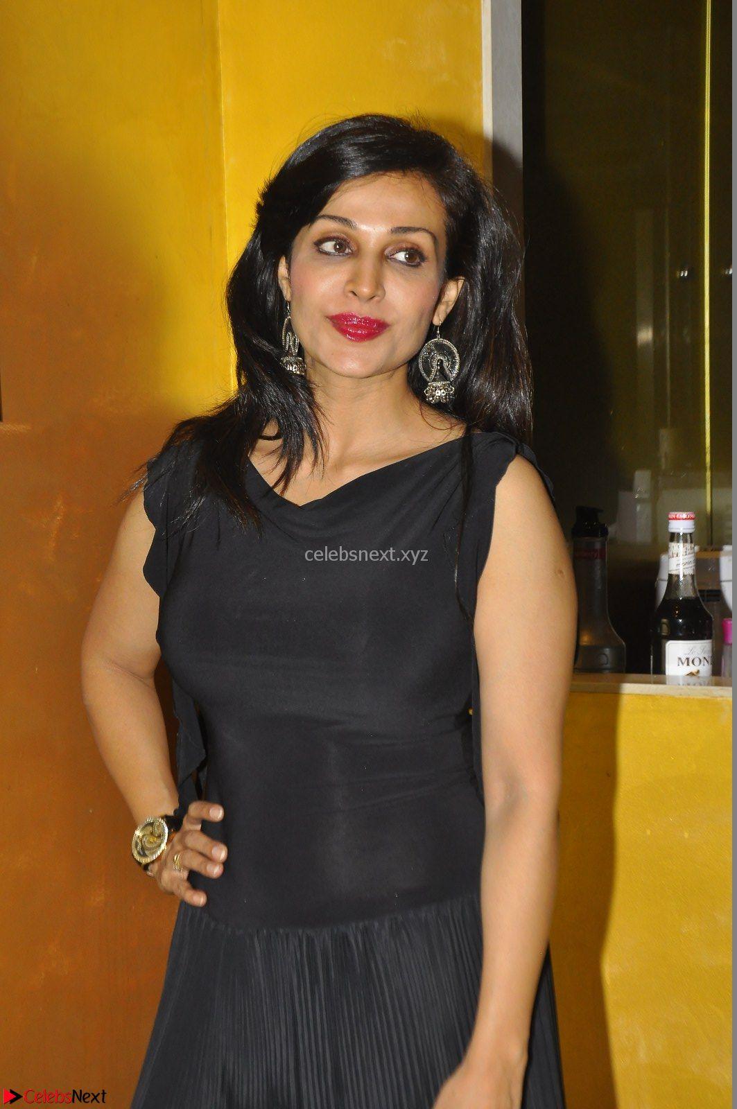 Flora Shaini looks super cute in black at Pelliki Mundu Prema Katha Trailer Launch Exclusive CelebsNext