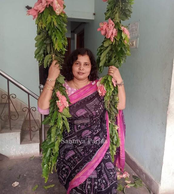 Raja Doli - Saumya Parida at Kalinga TV Premises