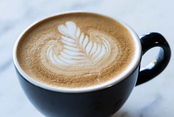 How Nescafe works with foam at home