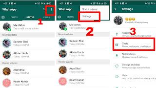 Delete Whatsapp Chat को वापस कैसे लाए