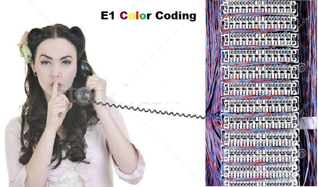 E1 Color Coding Details