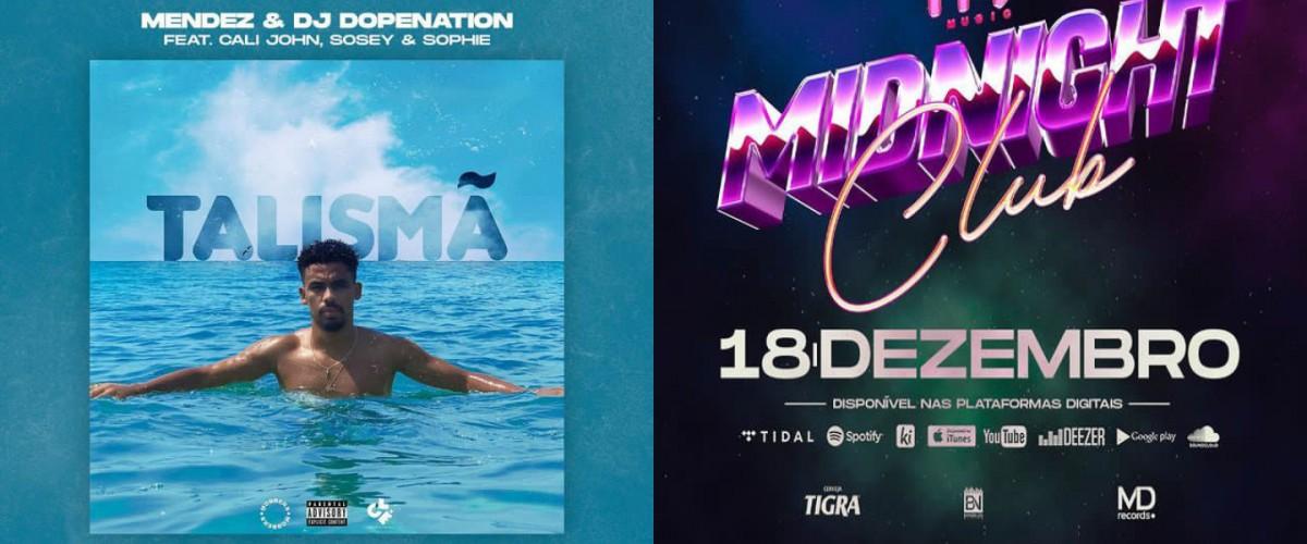 """Mendez anuncia nova música para o mesmo dia que a mixtape da """"TRX Music"""" será lançada"""