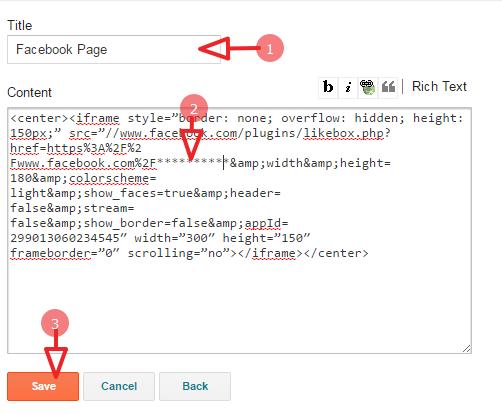 copy page code
