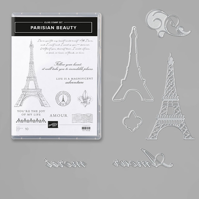 Craftyduckydoodah!, Parisian Blossoms Suite, Parisian Beauty, Susan Simpson UK Independent Stampin' Up! Demonstrator, Kre8tors Blog Hop, Supplies available 24/7 from my online store,