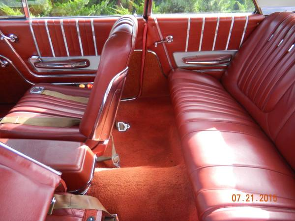 Ford Galaxie Xl Interior on 4 Door Car For A