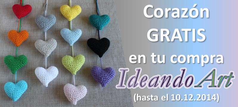 Corazón IdeandoArt