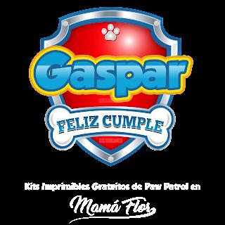 Logo de Paw Patrol: Gaspar