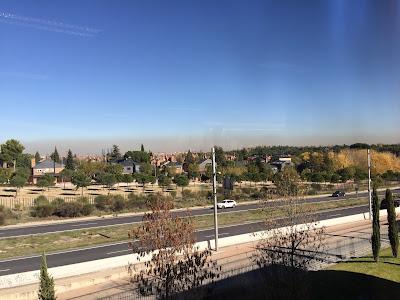 Vista de Madrid en noviembre del 2015