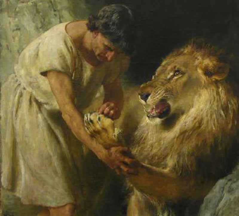 O Escravo Androcles e o Leão