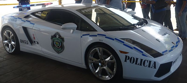 Police Car of Panama
