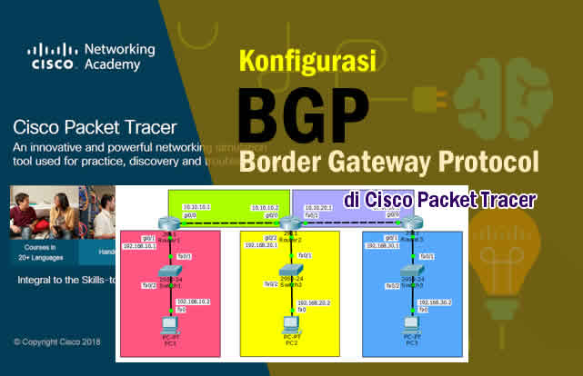 Cara Konfigurasi BGP Routing Lengkap di Packet Tracer