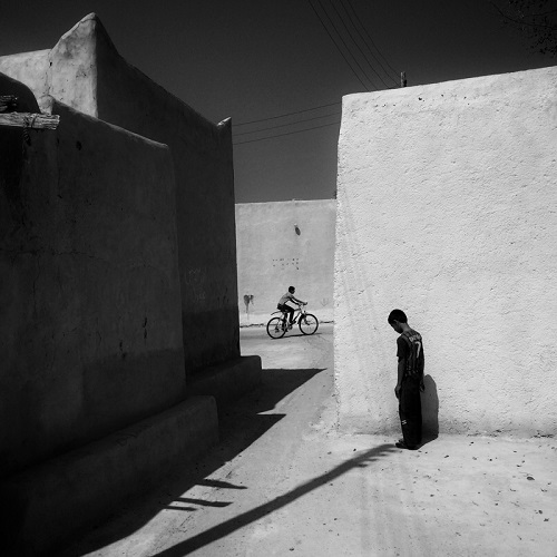 "foto por Ako Salemi - ""Old part of Kish Island"" - serie ""Iran from my Phone"" 