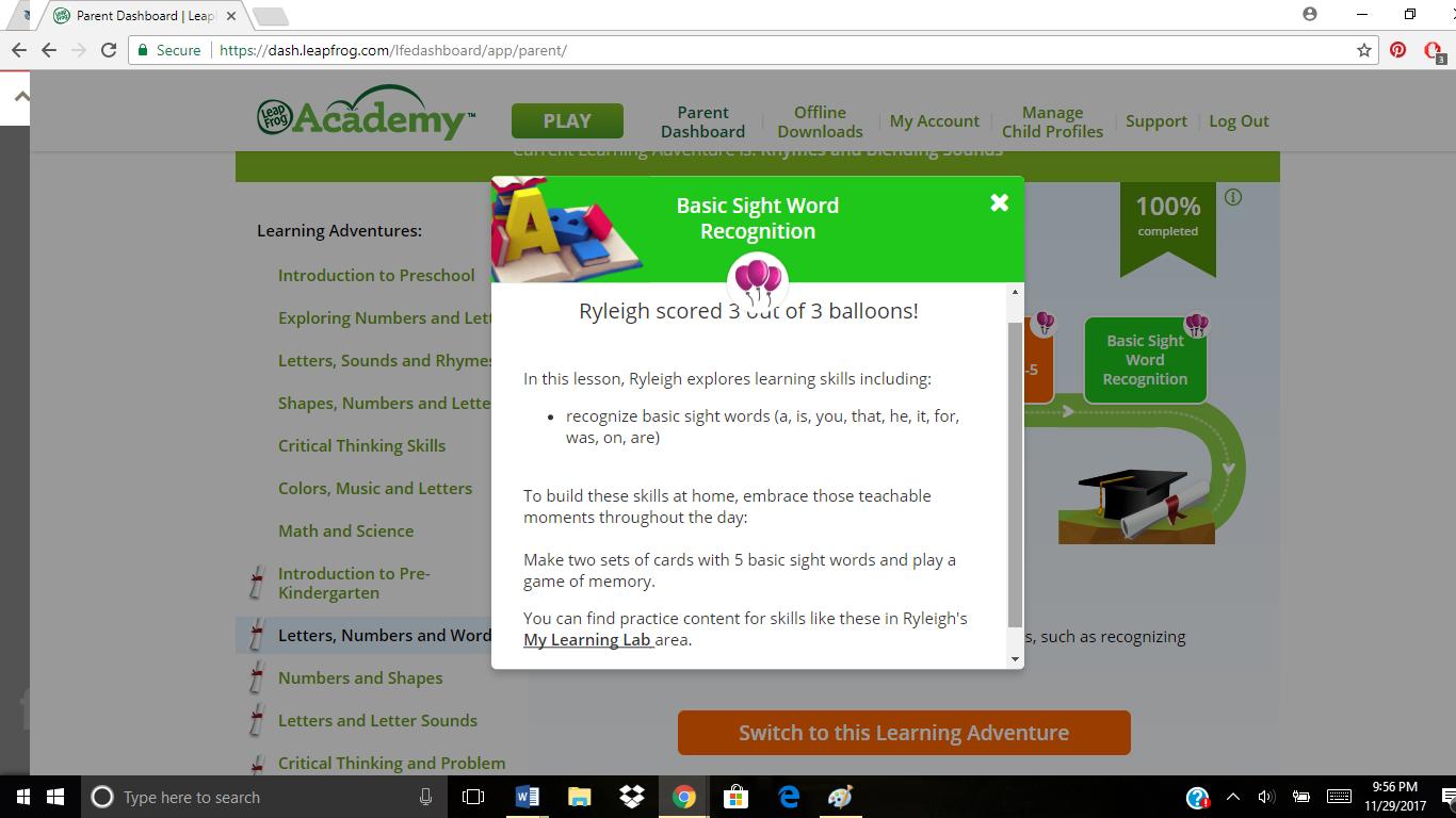 ABC\'s of LeapFrog Academy | Preschool Powol Packets