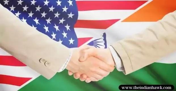 India-USA Flags mixed