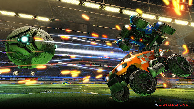 Rocket League NBA Flag Pack Gameplay Screenshot 5