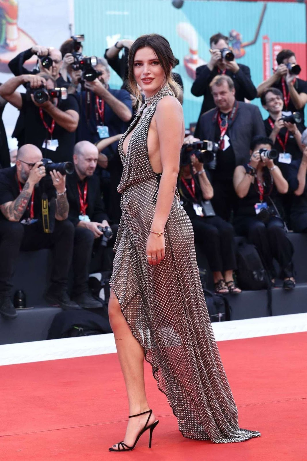 Bella Thorne at the Premiere of 'Joker' at Venice Film Festival 2019