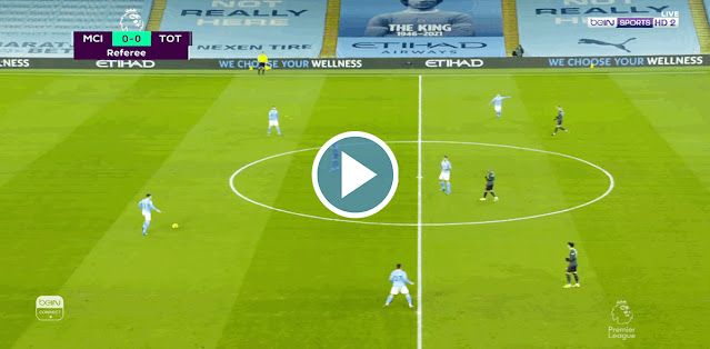 Manchester City vs Tottenham Live Score