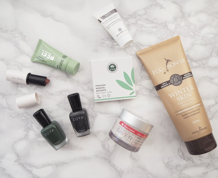green beauty, skincare, makeup