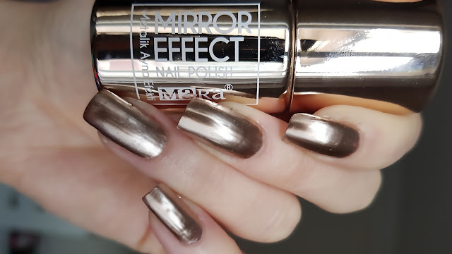 Mara Kozmetik Metalik Ayna Efektli Oje / Bronz