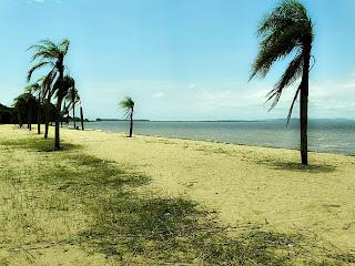 A Praia do Canto das Mulatas, em Barra do Ribeiro