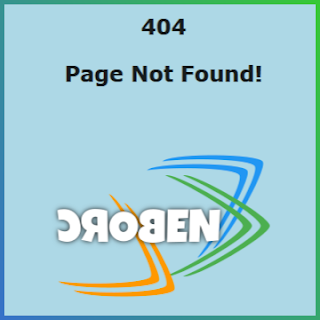 Custom 404 Page Not Found In Blogger Result