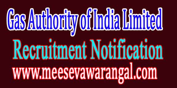 GAIL (Gas Authority of India Limited) Recruitment Notification 2016