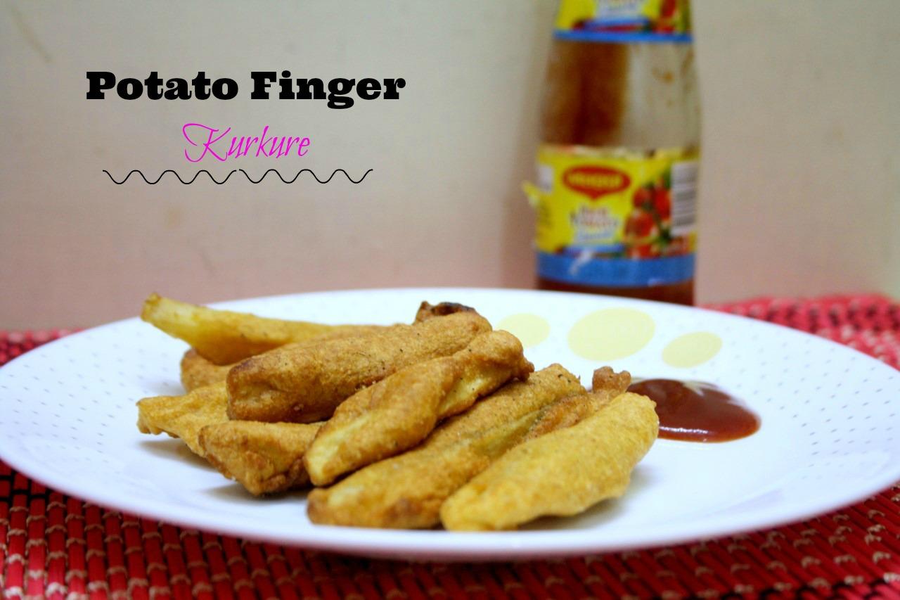 Potato fingers recipe crispy potato rava fingers potato finger food