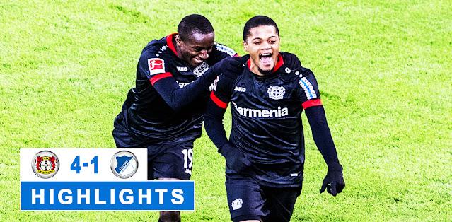 Bayer Leverkusen vs Hoffenheim – Highlights